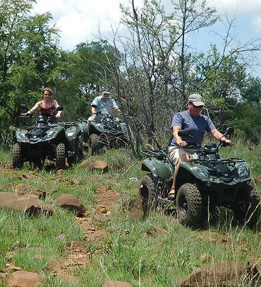 Guided quad biking out-rides